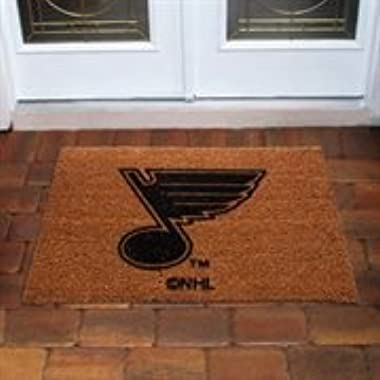 NHL St Louis Blues Flocked Door Mat