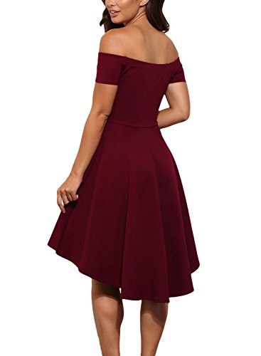 Losrly Womens Short Fit And Flare Bridesmaid Dress Prime