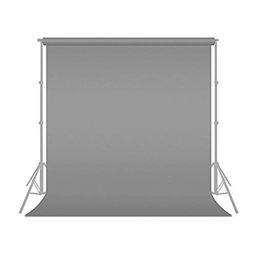 Julius Studio 6 ft X 9 ft Grey Chromakey Photo Video Photography Studio Fabric Backdrop Background Screen, -