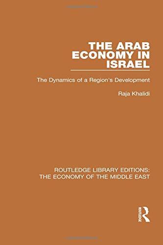 The Arab economy in Israel  :the dynamics of a region's development