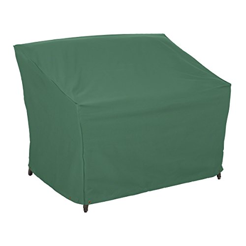 Classic Accessories 55-448-011101-11 Atrium Patio Loveseat/Sofa Cover, 55-Inch, Green