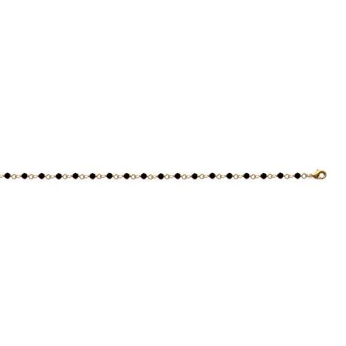 Les Plaisirs de Stella Women's Chain Bracelet Gold - Plated Diamant Crystal - 18 CM Length