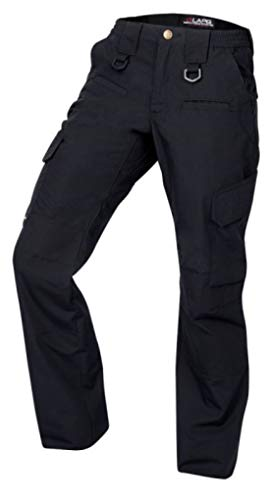 LA Police Gear Women's Operator Pant with 8 Pockets and Elastic Waist - Navy-2-REG
