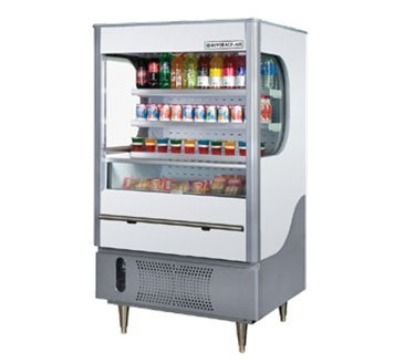 Beverage Air VM12-1-G Vuemax Series Open-Air Merchandiser