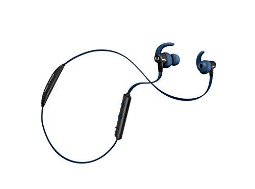 Fresh 'n Rebel Bluetooth In-Ear Kopfhörer - Lace Wireless Sports Earbuds kabellos (keine störenden Kabel - Akkulaufzeit: ca. 8h - Auch für schweißtreibendes Training geeignet) Blau