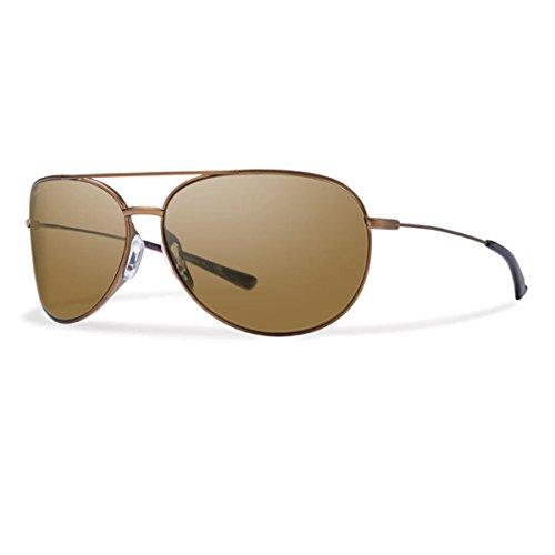 Smith Optics Rockford Slim Sunglasses, Matte Desert Frame, Polar Brown Carbonic TLT - Sunglass Desert