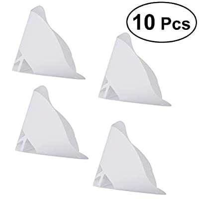 UKCOCO 10pcs/lot Resin Thicken Paper Filter Disposable for ANYCUBIC Photon SLA UV 3D Printer Parts Accessories Resin Filament Filters
