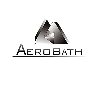 Aerobath Estantería de Ducha de Esquina con 4 Estantes Ajustable, Estantes Baño Telescópica, Organizador para Rinconera de Ducha con 3 Toallero, acero ...