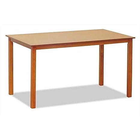 Muebles Baratos Mesa de Comedor Color Cerezo Rectangular Mesas salón ...