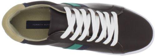 Tommy Hilfiger Mens Elliot2 Gymnastiksko Brunt Multi Läder