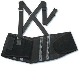 Ergodyne ProFlex 2000SF High-Performance Back Support, Large, Black by Ergodyne (Image #1)