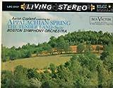 Appalachian Spring, The Tender Land, Boston Symphony Orchestra, RCA, LSC-2401, Vinyl