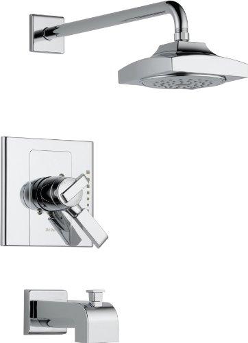 Delta T17486 Arzo Monitor 17 Series Tub and Shower Trim, Chrome