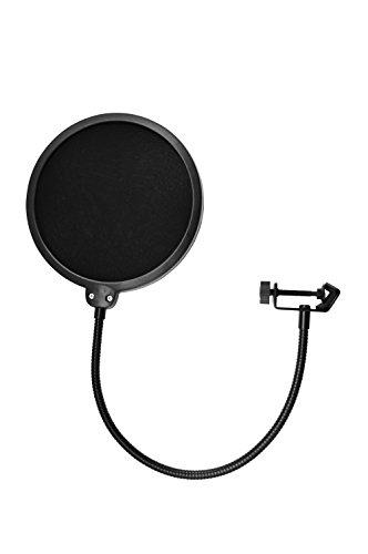 TIE Studio 19-90001 - Filtro para microfono con parabrisas Pop Mascara Escudo