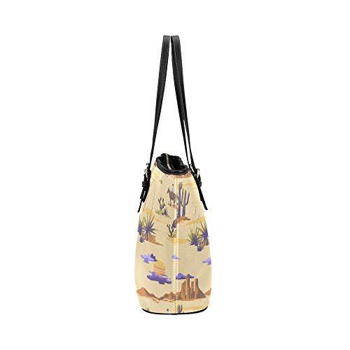 Axelväska väska vänlig färgglad häst tecknad djur läder hand döda väska vardagliga handväskor med dragkedja axel organizer för dam flickor dam axelväskor för flickor