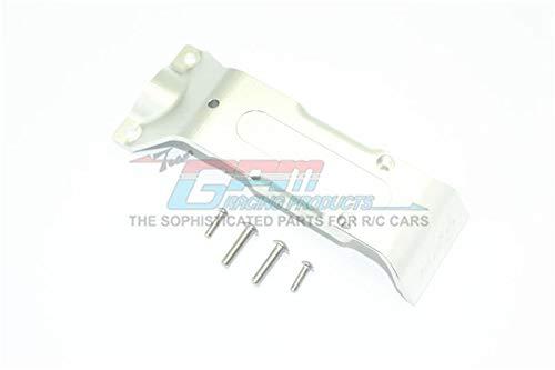 GPM Traxxas E-Revo 2.0 VXL Brushless (86086-4) Upgrade Parts Aluminum Rear Skid Plate - 1Pc Set Silver