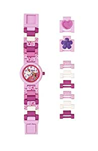 LEGO Watches and Clocks Girl's 'LEGO Friends Olivia' Quartz Plastic Watch, Color:Pink (Model: 8021247)