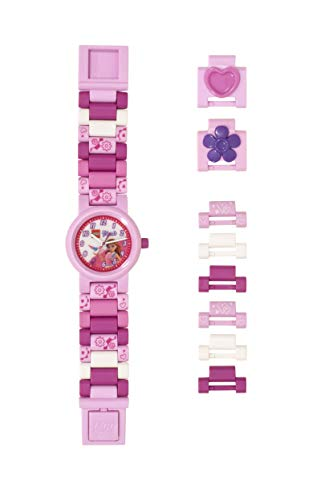 Watch Plastic Pink (LEGO Watches and Clocks Girl's 'LEGO Friends Olivia' Quartz Plastic Watch, Color:Pink (Model: 8021247))