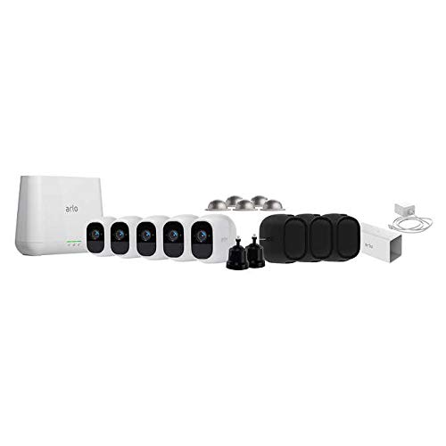 Arlo Pro-2 Wifi Hd 5-Pack Camera Security System Bundle 1yr by NETGEAR