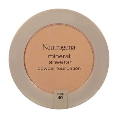 Neutrogena Mineral Sheers Nude Compact Powder Foundation, 0.34 Ounce - 36 per case.