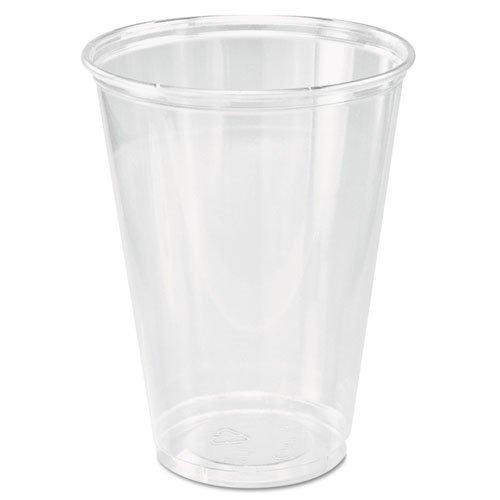 (SOLO Cup Company Ultra Clear Cups, Tall, 10 oz, PET, 50/Bag, 1000/Carton)