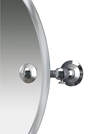 Miller Bathrooms Metro Mirror Swivel Round Frosted Bevelled