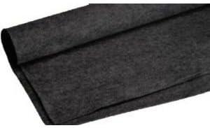 15ft x 4ft  BLACK CAR SUB SPEAKER BOX CARPET TRUNK LINER DJ