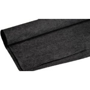 Absolute C20BK 20-Feet Long/4-Feet Wide Black Carpet for Speaker Sub Box Carpet rv Truck Car Trunk Laner