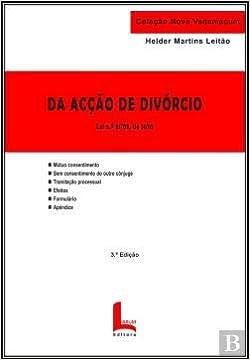 Da Aco De Divrcio Portuguese Edition Helder Martins Leito 9789899961289 Amazon Books