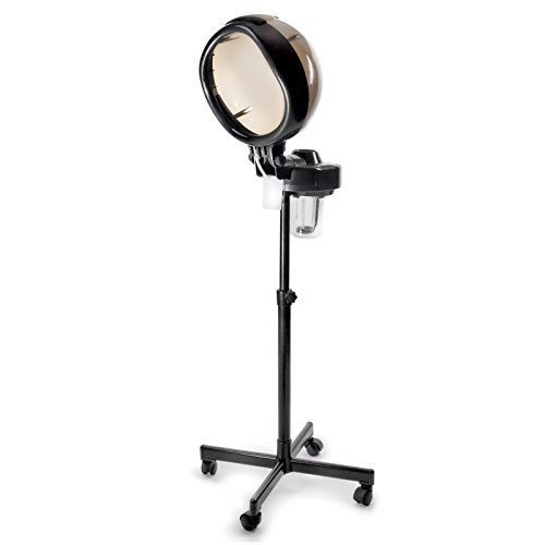 Salon Sundry Professional Salon Hair Steamer with Rolling Floor Stand Base from Salon Sundry