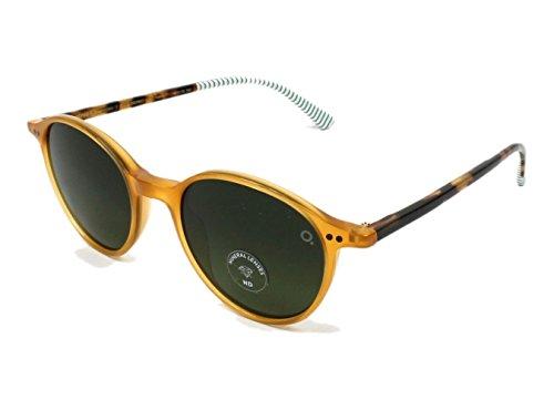 Etnia Barcelona pearl district YWHV (Transparent Yellow - Transparent Havana with Green Gradient - Etnies Sunglasses