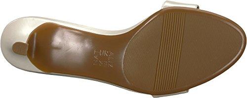 Pearl Sandal Heeled Tinda Leather White Naturalizer Women's PCzqxHPO