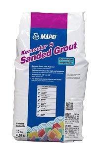 MAPEI Keracolor S Cementitious Sanded Powder Grout - 25LB Bag (Rain #101)