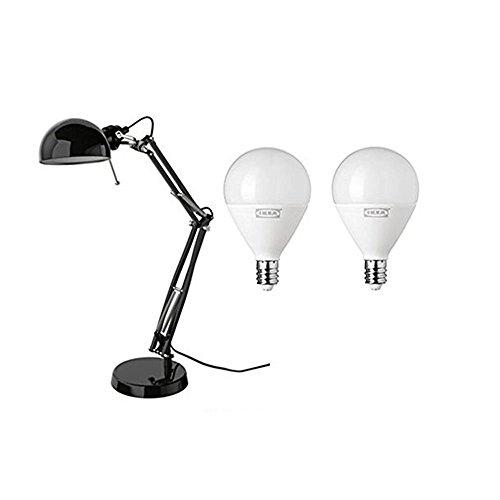 Lámpara y Ikea de LED bombillas Incluye trabajo Forsa Ifyvgb76Y