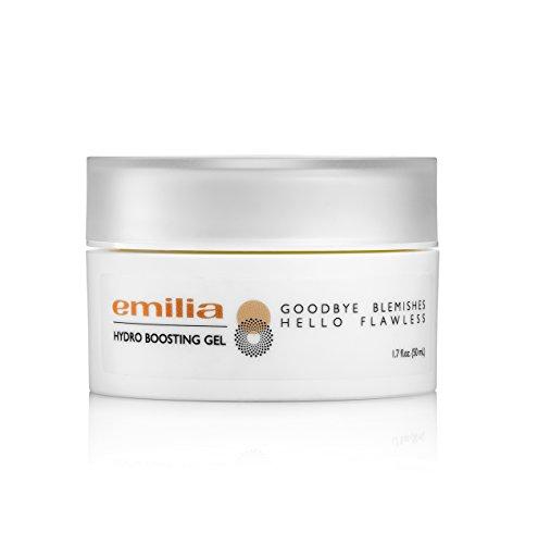 Face Moisturizer Body Lotion Gel - Hydrating and Energizing Body Gel, Hydro Boosting Gel - Emilia (Lotion Care Moisture Energizing Skin)