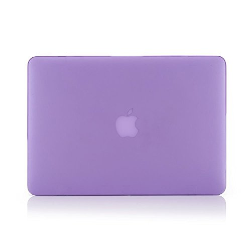 Buy macbook pro 13 case purple rubber