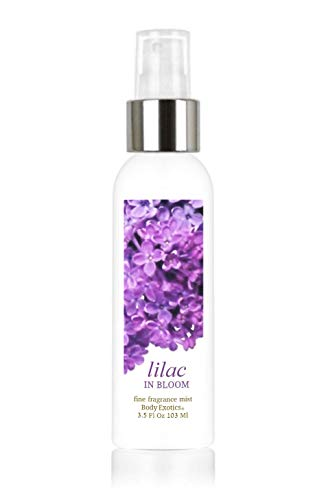 Lilac in Bloom Voted Best Lilac Perfume 3.5 Fl Oz 103 Ml Alcohol-free Fine Fragrance Perfume Mist Body Exotics ~ the Intoxicating Fragrance of Lilacs in Full Bloom