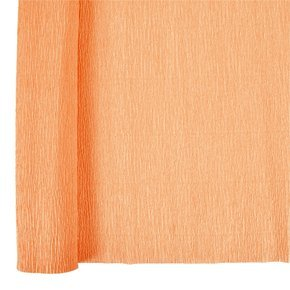 Peach Crepe (Just Artifacts Premium Crepe Paper Roll - 8ft Length/20in Width (Color: Peach))