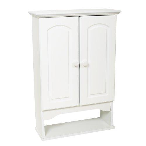 Zenna Home E9615W, Hartford Wall Cabinet, White