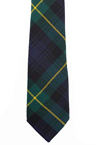 Gordon Modern Tartan Wool Necktie USA Kilts
