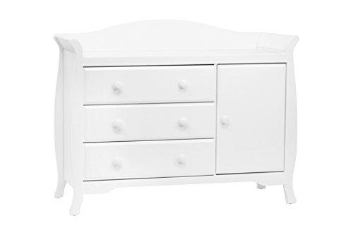 Classic Ashbury Combo Dresser Assembled,  White ()