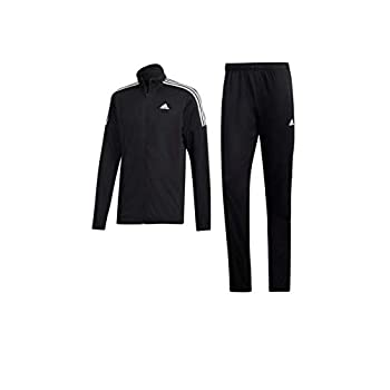 Image of Active Tracksuits adidas Black Men's Lifestyle Sport Tracksuit Size M