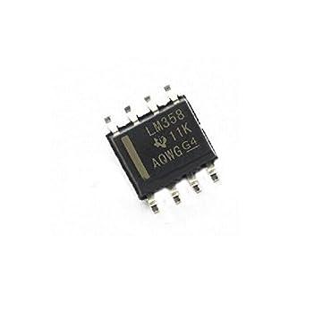 100PCS x LM358 LM358DR SOP-8 SOIC-8 SMD IC
