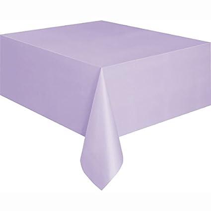 Ordinaire Lavender Plastic Tablecloth, 108u0026quot; ...