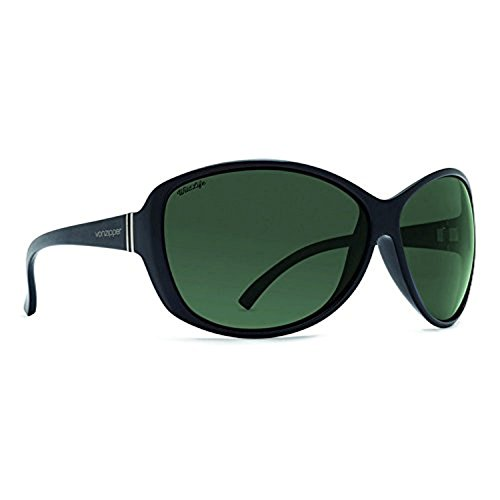 Sunglasses Black Gloss/Wild Vintage Grey Pol & Carekit (Von Zipper Black Gloss)