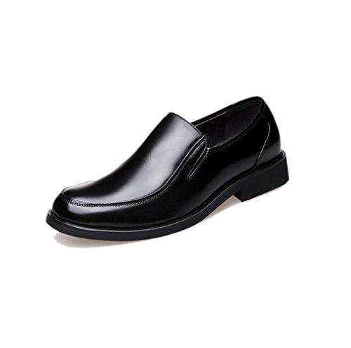 Cuoio Piselli Scarpe Oxford Maschi Black Daffari Cuoio Pigre Casual di Scarpe Scarpe xpCSqZwC