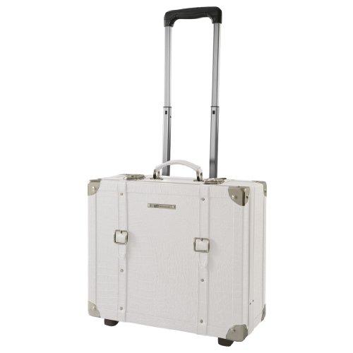 Bianco Trolley 4 310142 Travel Rigido Pilota Vintage RoncatoCiak Ruote O8tg5xAqgw