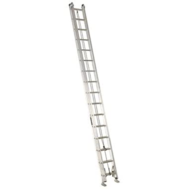 Louisville Ladder AE2232 Aluminum Extension Ladder 300-Pound Capacity, 32-Feet