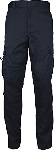 Midnight Dark Blue Uniform 9 Pocket EMT Cargo Pants with Pin -XL (42W x 32L) ()