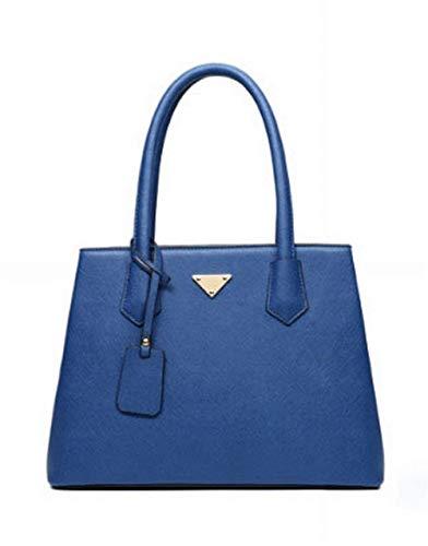 Dames métal Bleu Sac bandoulière à Taille Moontang Messager Femmes Bleu Sac Dames Femmes Mode coloré atmosphère Sac 5vzxIxpaqw